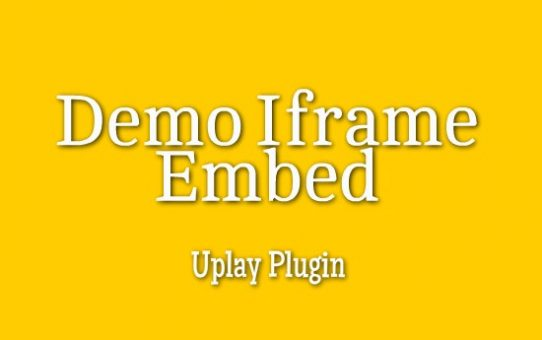 Demo Iframe Code