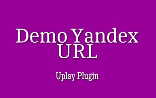 Demo Yandex Video URL