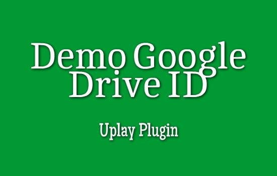 Demo Google Drive ID