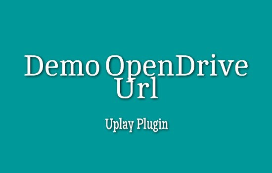 Demo Open Drive ID
