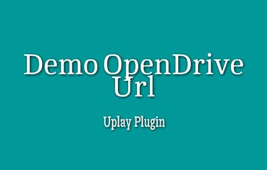 Demo Open Drive ID